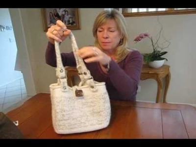 How to Knit or Make a Felted Purse or Bag