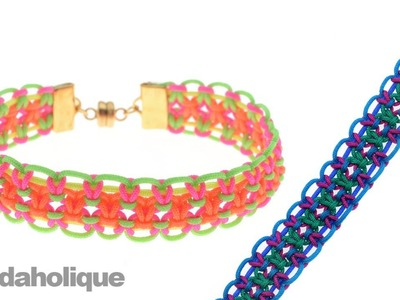 How to Make a Knotting Cord Macrame Bracelet