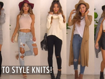 How To Style Knits