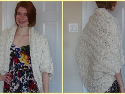 Knitted Cable Kimono