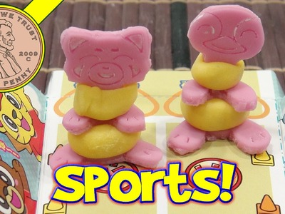 Kracie Popin' Cookin' Sports Day Japanese DIY Kit - Pinky & Pokey Race!