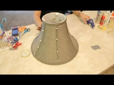 Lampshade Decorating Crafts : Easy Crafts