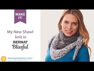 Make It: My New Shawl in Bernat Blissful