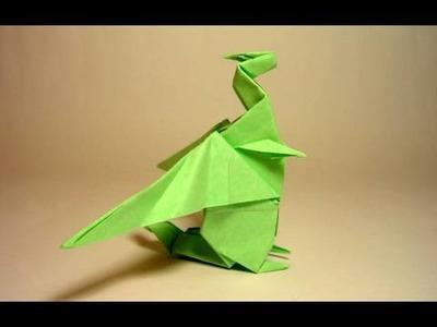 Origami Dragon - Dragão de Origami (Gilad Aharoni)