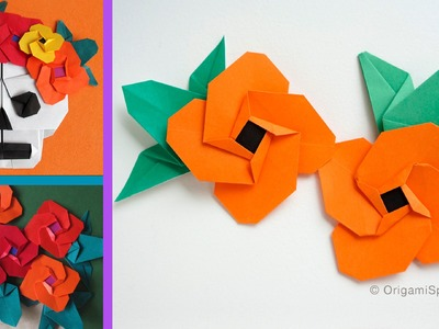 Origami Flower (Spanish Eye) :: Flor -Ojo de Venus