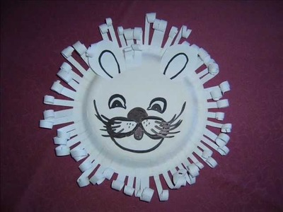 Paper Plate Lion - Craft with Susan Sparkles