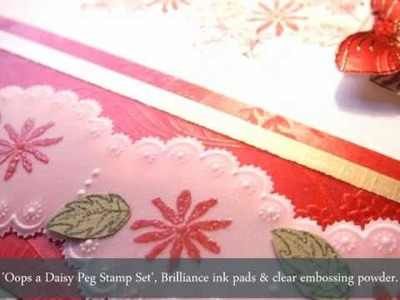 Parchment Craft & Stamping - Card Idea's By Wendy Walters.