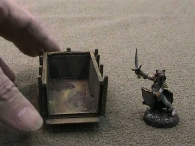 Pull cart prop for D&D encounters (The DM's Craft, Short Tip, EP 29)