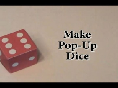 Rubber Band Pop Up Dice