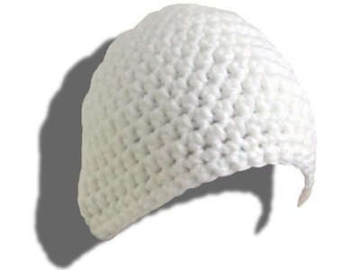 SIMPLE hat crochet tutorial for lefties - © Woolpedia