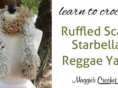 Starbella Reggae Scarf Easy Crochet Lesson with Maggie Weldon
