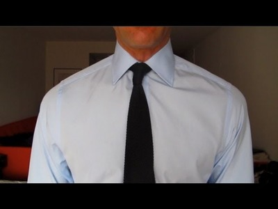 The Black Knit Tie