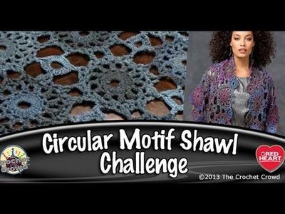 The Crochet Crowd Circular Motif Shawl Challenge: June 2013