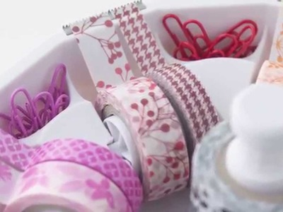 Washi Tape, Washi Sheets and Washi Tape Dispenser by We R Memory Keepers