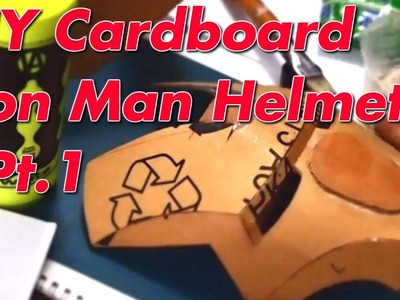 #11: Iron Man Mark 4 Helmet DIY 1.5 - Cardboard - Cut & Glue (Template)