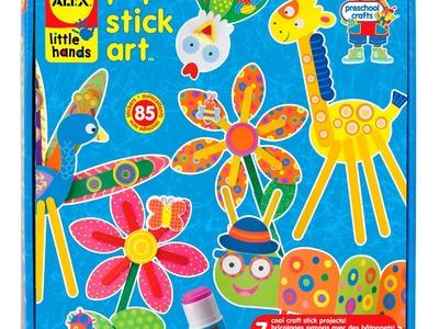 ALEX Toys Pop Stick Craft Art Kit -1409