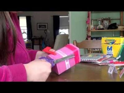 American Girl Mailbox Craft