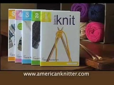 Americanknitter.com American Knitter Learn to Knit Commercial Ad