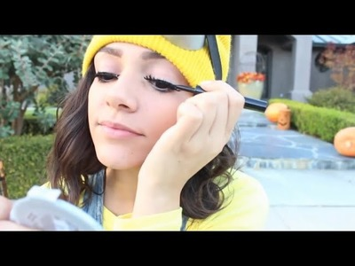 Bethany Mota Makeup ♥‿♥ DIY Despicable Me Minion Costume Makeup!