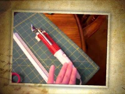 Buy instructions on making fabric photo frames- washable, sewn