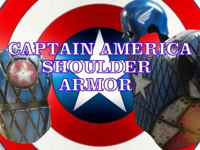 CAPTAIN AMERICA SHOULDER ARMOR E8