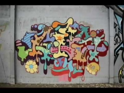 Ces53 DIY Tutorial.How to do a Graffiti-piece in C-funk wild-style.