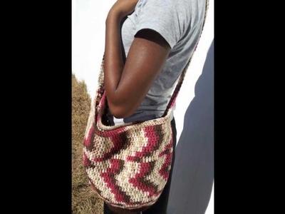 Crochet crossbody bags & more