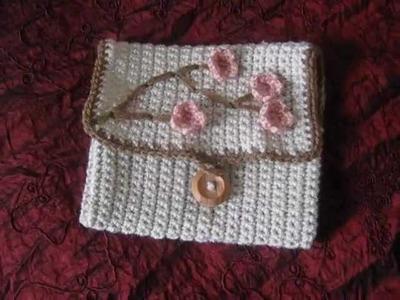 Crochet hook case & Infinity scarf! :)