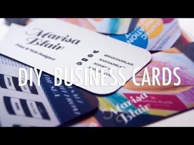 DIY Business Cards | XO PIXEL