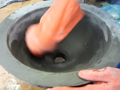 DIY Make a Concrete Vessel Sink