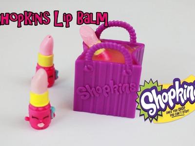 DIY Shopkins (Lippy Lips) lip balm | Kool-Aid Lip Balm tutorial