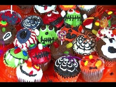 DIY: Spooky and Fun Halloween Cupcake Tutorial!