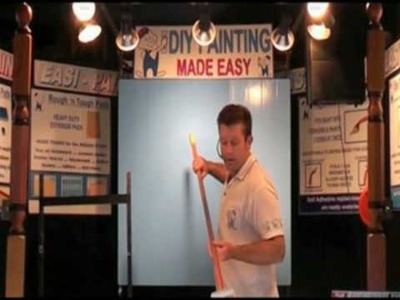 Easi paint part 4 -how to paint a ceiliing with the EASI PAINT DIY PAINTING KIT