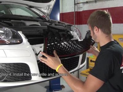 ECS Tuning: DIY - MKV GTI Badgeless Grille