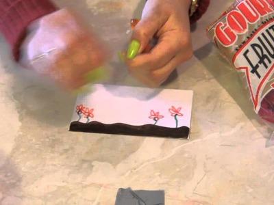 Gummy Worms Crafts : Arts & Crafts