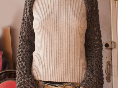 How to crochet shrug