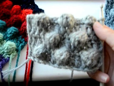 How to crochet the bobble stitch - Part 5 of 5 - Crochet Lessons