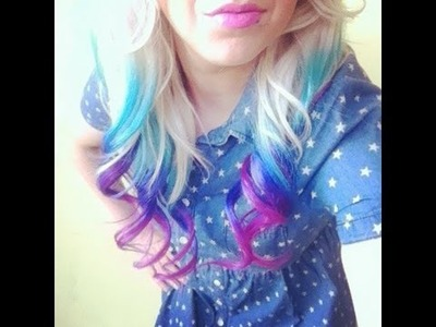 How To: DIY Bright Ombre Hair