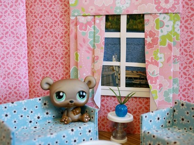 How to Make a Dollhouse Window with Curtains : Bonus Project: Graduation Stuff
