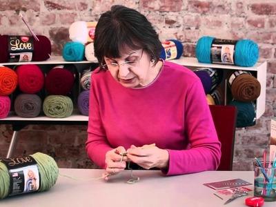 Learn more Left-handed Crochet Stitches with Red Heart Yarns