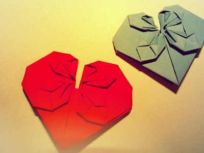 Make beautiful heart of paper , video tutorial