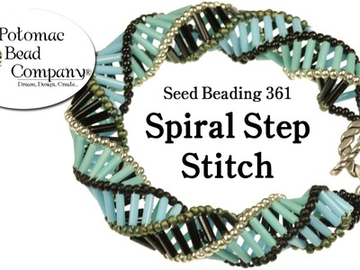 Make Spiral Step Jewelry (Necklace or Bracelet)