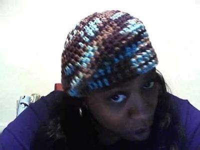 MsJJcrochet video Response to: Re: Crochet Beret Cap - Part Two