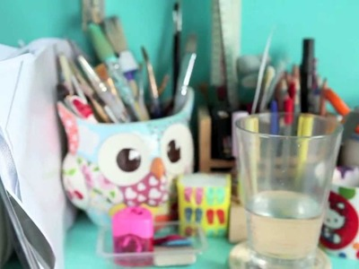 My office. Art. craft room tour