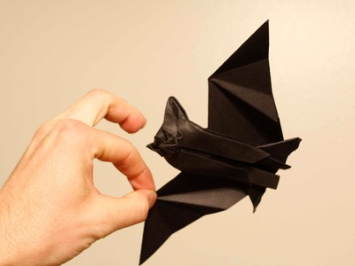 Origami Bat tutorial part1