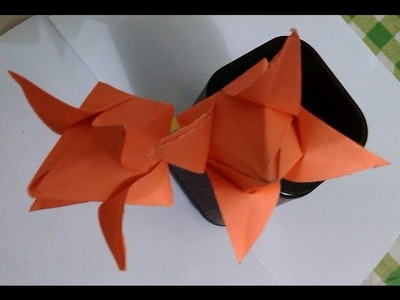 Paper Crafts - Paper Lotus - Papercraft Flower