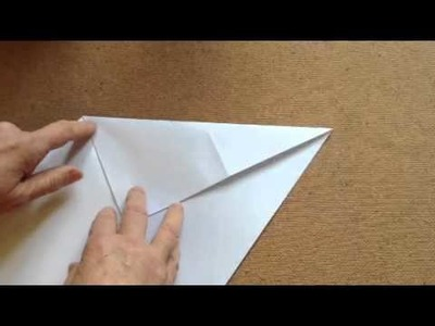 Paper Folding a Tetrahedron (pyramid) for the Origami-challenged