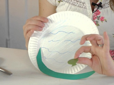 Pond Fish Art Projects for Preschool : Crafts for Kids