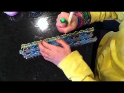 Rainbow Loom Hand Cuff Easy