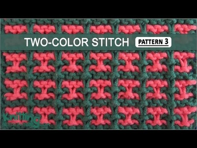 Two-Color Stitch Pattern #3 - 12.17.2014